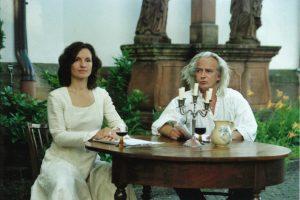 Musik und Poesie im Kirchhof Rheinzabern