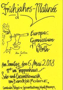 Plakat Matinee EGW